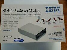 NEW /  IBM SOHO Assistant Modem 512 external 14.4 kbps Data Fax External