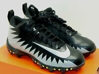 Nike Alpha Menace Shark BG Football Cleats, Youth Boys Black Size 3.5 Youth