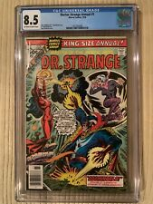 Doctor Strange Annual 1 CGC 8.5 OW-White Pages