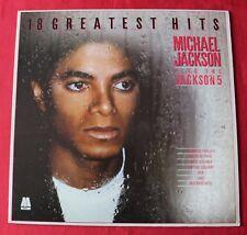 Michael Jackson, 18 greatest hits - best of,  LP - 33 tours
