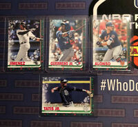 2019 Topps Holiday Vladimir Guerrero Jr Tatis  Pete Alonso Jimenez LOT WALMART