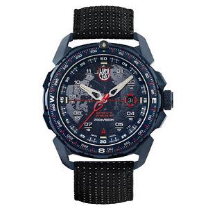 Luminox Ice-Sar Arctic Quartz Blue Dial Black Nylon Strap Men's Watch XL.1203