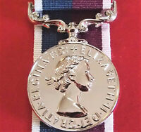 AUSTRALIAN BRITISH QEII ROYAL AIR FORCE LONG & GOOD SERVICE MEDAL REPLICA ANZAC