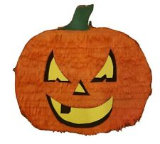 Pumpkin Halloween Pinata Hanging Decoration 18in x 14in x 4in