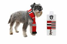 Dog Scarf Football for MAN UTD Exeter and Doncaster Rovers Manchester united