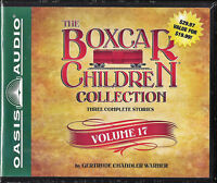 NEW The Boxcar Children Collection Volume 17 Audio Book Gertrude Chandler Warner