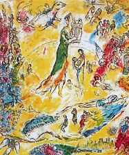 Sorcerer of Music, Limited Edition Offset Lithograph, Marc Chagall