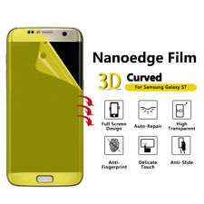 5x Anti-Scratch Lcd Full Screen Protector Guard Film For Samsung Galaxy S7