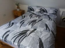 Double, King Size Duvet Cover with Continuous ZIP Closure on THREE SIDES