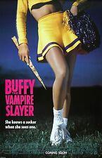 "Buffy The Vampire Slayer movie poster - Kristy Swanson  - 11"" x 17"""
