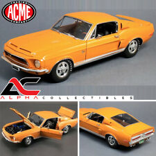 ACME A1801807 1:18 1968 FORD SHELBY MUSTANG GT 500 KR ORANGE WT 5014 #3