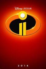 Incredibles 2 - original DS movie poster - 27x40 D/S 2018 Advance - PIXAR