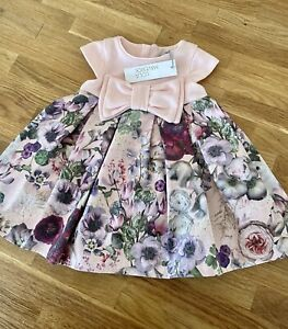 Lola Maverick Baby Girl Dress 9-12 Months Dress Floral