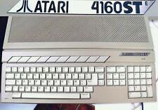 Rare ATARI 4160 STE RAM 4 Mo (4Mb) TOS 1.62 Ordinateur ST computer 520 1040 MEGA