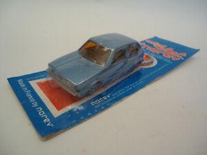 Vintage Rare Blue VW Golf 1 Car Toy Keychain Mini Jet NOREV France Sealed - NOS