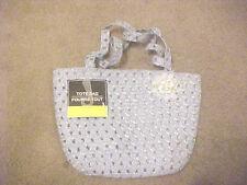 Girls Blue Tote Bag Small Purse Weave Design Brand New Greenbrier International