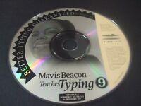 Mavis Beacon Teaches Typing 9 (PC, 1999) - Disc Only!!!
