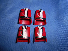 Playmobil Western ACW 4 x Oberkörper rot Kette Halstuch Gürtel Marschall top