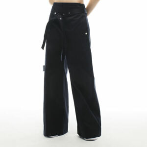 Reebok RBK x Victoria Beckham Fashion Trousers Sizes 6-14 Navy RRP £300 FQ7196