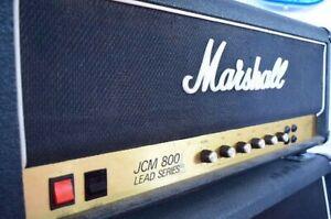 MARSHALL JCM 800 SUPER LEAD MOD. 1959 PLEXI ORIGINALE 1986