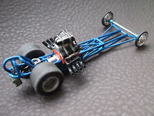 1960s Slingshot Dragster One Off Tube Chassis 1/64 scale