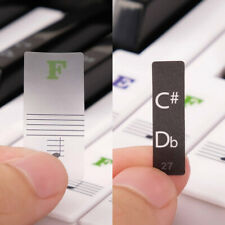 Removable Keyboard Stickers for 88/61/54/49 Fresh Key Sticky Piano Stickers MK8C