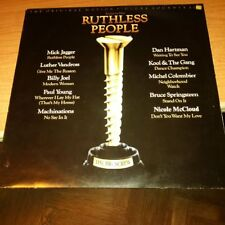 LP OST RUTHLESS PEOPLE EPIC  EPC 70299 EX-/NM HOLLAND PS 1986 MICK JAGGER BOSS