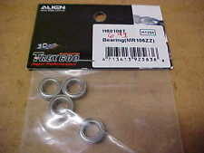 ALIGN HELICOPTER PARTS - H60106T = MR106ZZ  BEARINGS : TREX 600 (NEW)