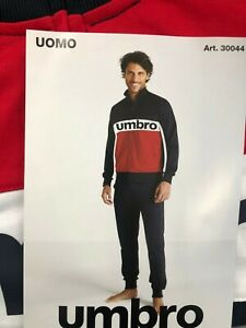 Tuta Uomo Umbro in cotone full zip art UPJ30044S
