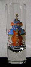 Hard Rock Cafe Tall 2005 City Shot Glass Niagara Falls NY (manufacturing flaw)