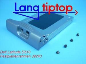 Dell Latitude D510 Hard Disc Frame HD Caddy J9243