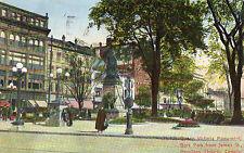 Hamilton Ontario Gore Park from James Street Postcard 1912