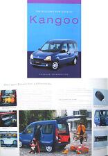 Renault Kangoo Estate 1999 Original UK Preview Brochure