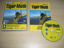 de Havilland TIGER MOTH Pc DVD Add-On Flight Simulator Sim 2004 or X FS2004 FSX