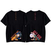 Hot Dragon Ball Z T-Shirt Super Saiya Goku Goten Cosplay Shirts Tops Unisex Tee