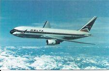 DELTA AIR LINES - BOEING 767 - N101DL (1) - IN FLIGHT - POSTCARD NEW
