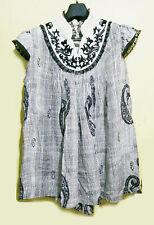 Shantanu & Nikhil silk embroidered paisley top