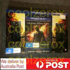The Dark Knight Rises BLURAY DVD W/ Batman and Bane Mini Figures