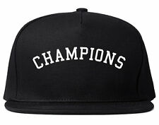 Kings Of NY Champions Arch Black and Gold Snapback Hat