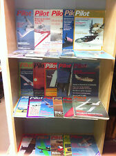 Collection of Pilot - Flying For Business and Pleasure Magazines, 1980-1989
