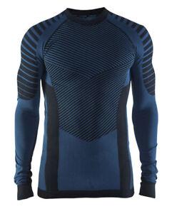Funktionsshirt Sporshirt CRAFT Active Intensity, Herren, Langarm, Größe XXL blau