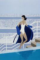 Serge Lassus: Benessere - Litografia Originale Firmato A Matita, 250ex