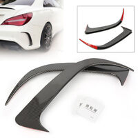 Carbon Fiber Style Canard Air Vent Covers Trim For Mercedes-Benz CLA200 220 250