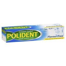 4 X Polident Denture Adhesive Cream Flavour 60g