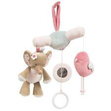 Charlotte & Rose Mini Móvil Musical Juguete Bebé Elefante Rosa y neutrales Cuna Cuna