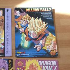 DRAGON BALL Z DBZ ADVENTURE STORIES JUMBO CARDDASS CARD CARTE N° 5 JAPAN 1995 **