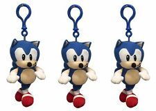 New Sonic the Hedgehog 5 Inch Plush Soft Toy Bag Clip-On Key Ring