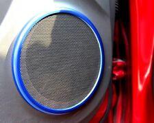 185- CZR Cruze Chevrolet Trim for Speaker Ring Audio (Set 4) BLUE Colour