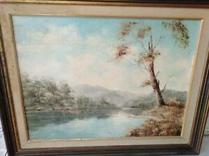 "Oil painting "" Camden heaven"" by John Hingerty   45 x 61"