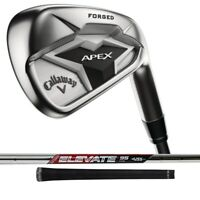 New 2019 Callaway Apex Irons 4-PW+AW Right Hand -Steel Shafts- Choose Your Flex